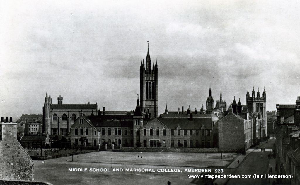 Middle School and Marischal College, Aberdeen