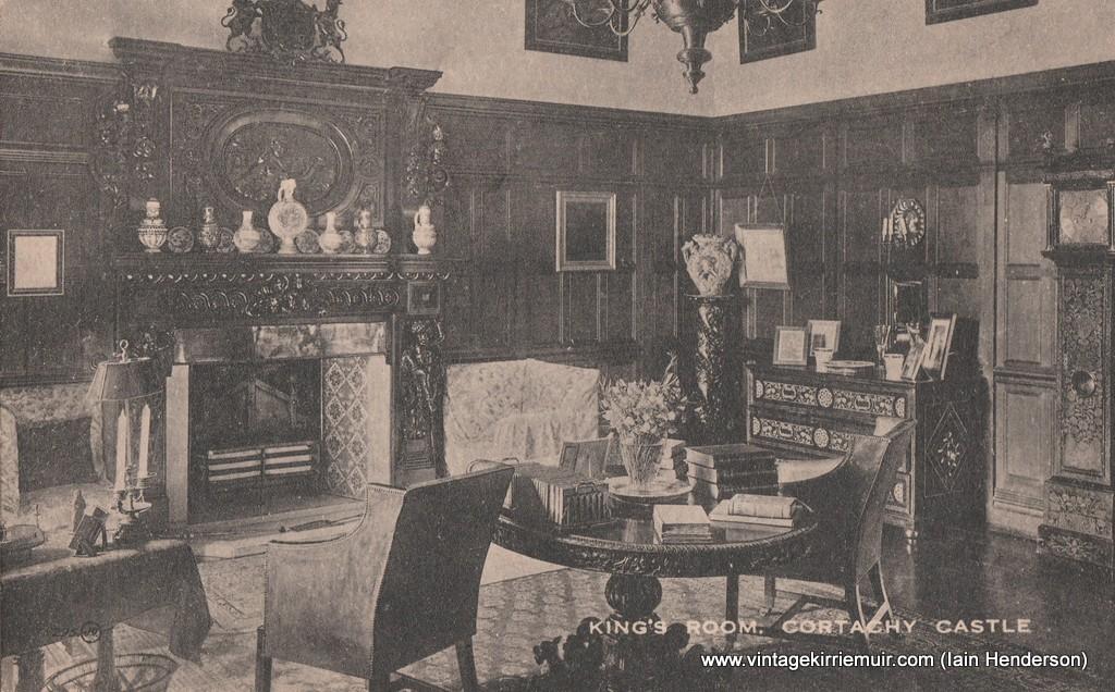 King's Room, Cortachy Castle