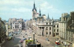 Castlegate looking towards Union Street, Aberdeen