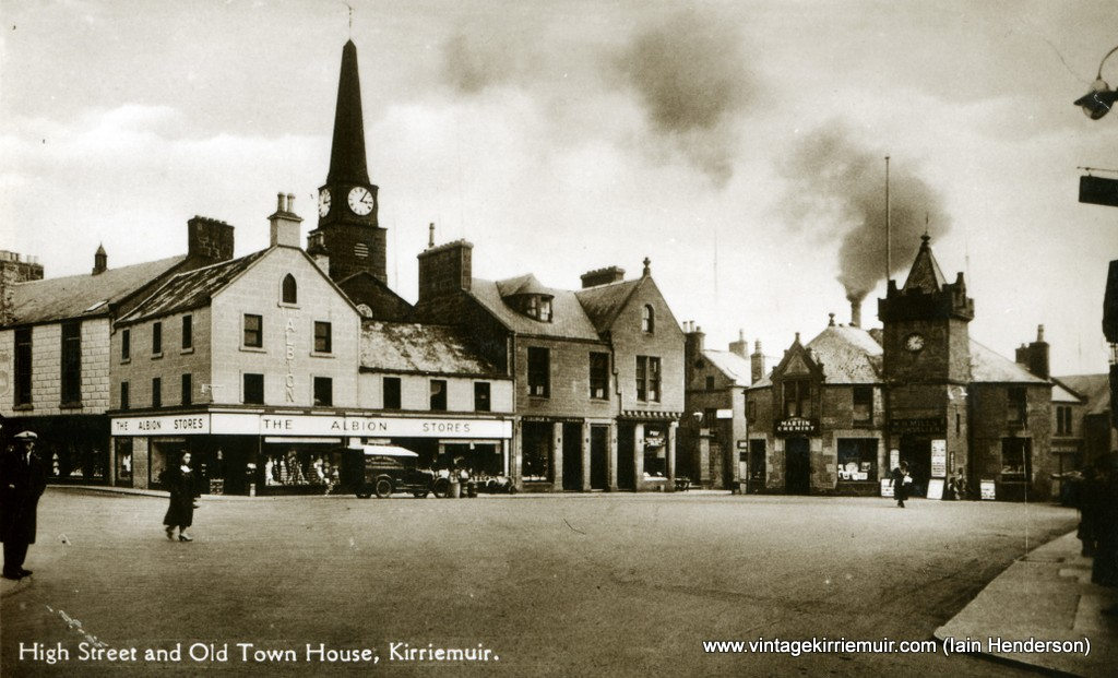 High Street and Old Town House, Kirriemuir