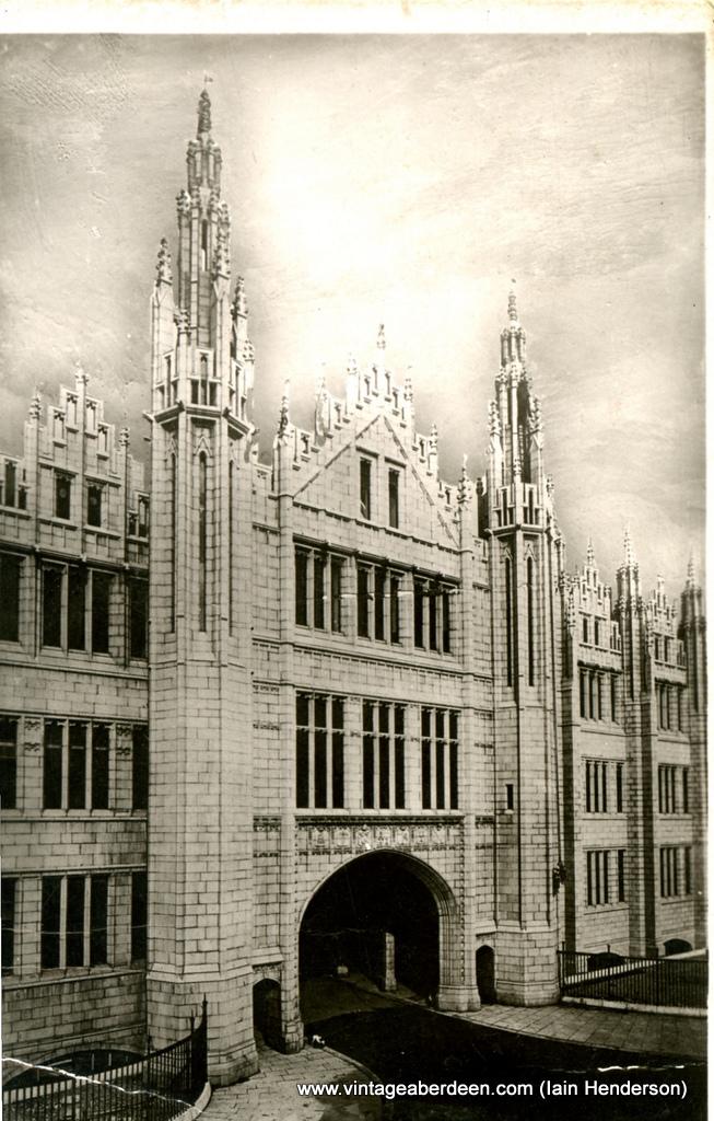 Main Entrance, Marischal College, Aberdeen