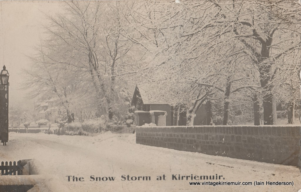The Snow Storm at Kirriemuir