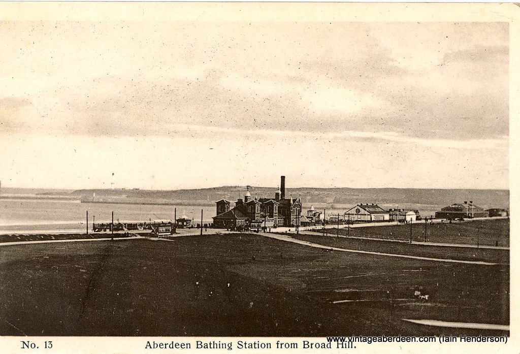 Bathing Station at Aberdeen beach