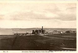 Bathing Station at Aberdeen beach
