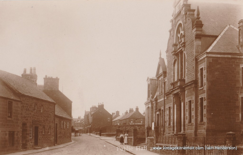 Public Hall and Reform Street, Kirriemuir