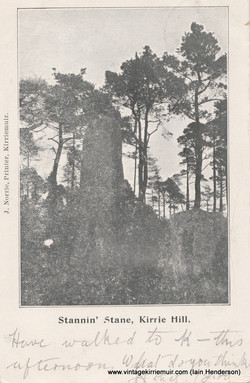 Standin' Stane, Kirrie Hill (1904)