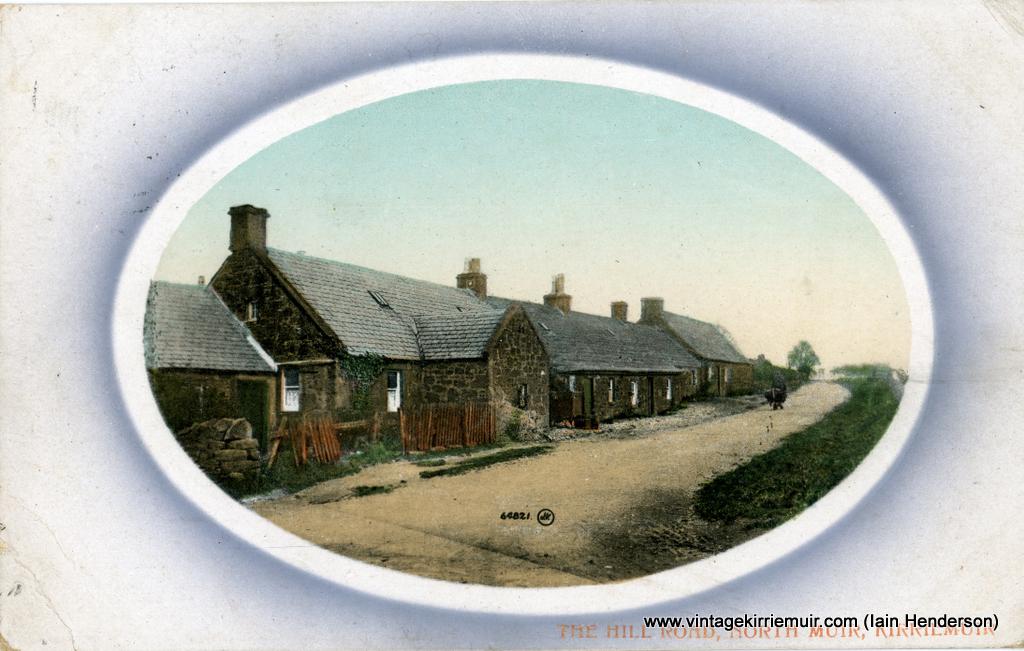 The Hill Road, North Muir, Kirriemuir 1917)