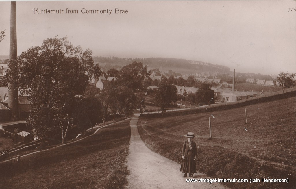 Kirriemuir from Commonty Brae (1913)