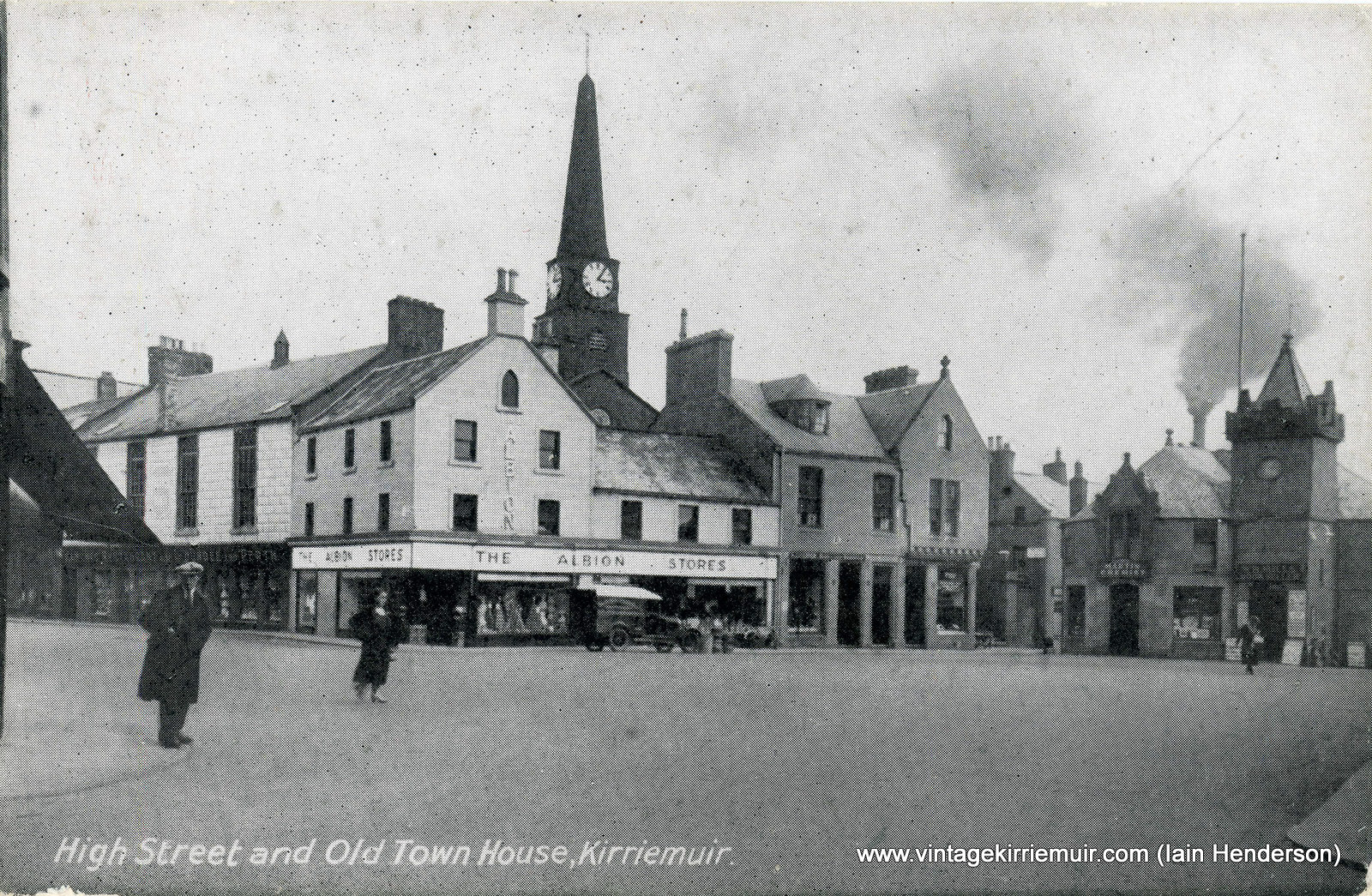 High Street and Old Town House