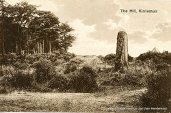 The Hill with pictish stone, 1929