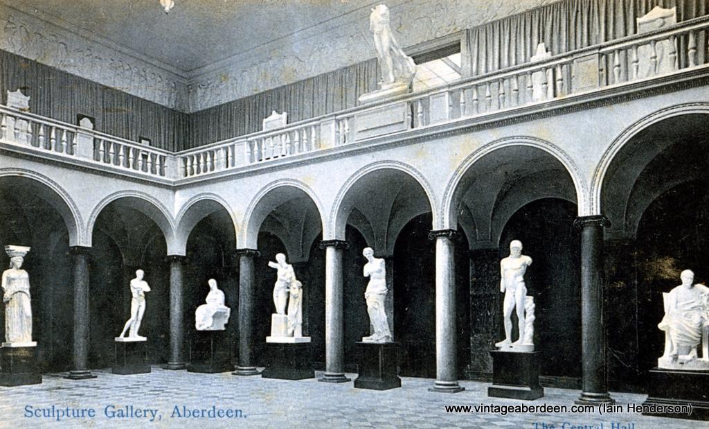 Sculpture Gallery, Art Gallery 1907