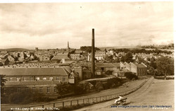 Kirriemuir from the Commonty, 1950s