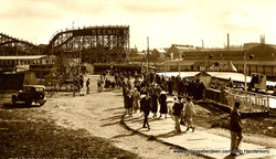 Scenic Railway, Codona's, Aberdeen Beach