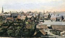 Old St Mary's Spire, 1906
