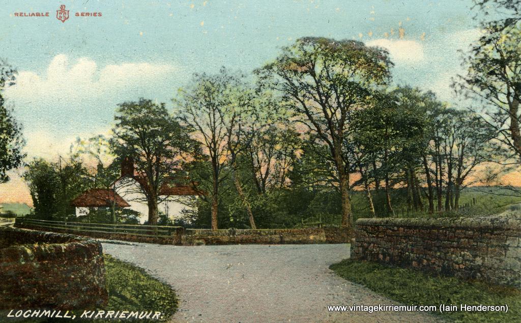 Lochmill, Kirriemuir, 1908