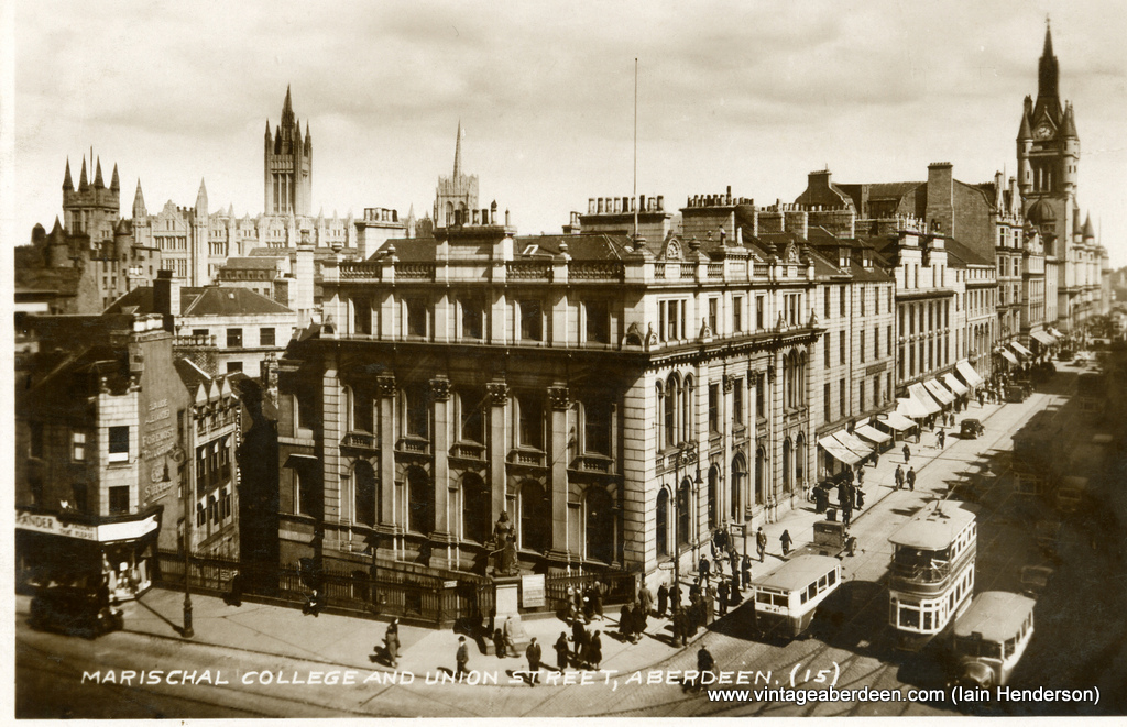 Marischal College and Union Street, Aberdeen