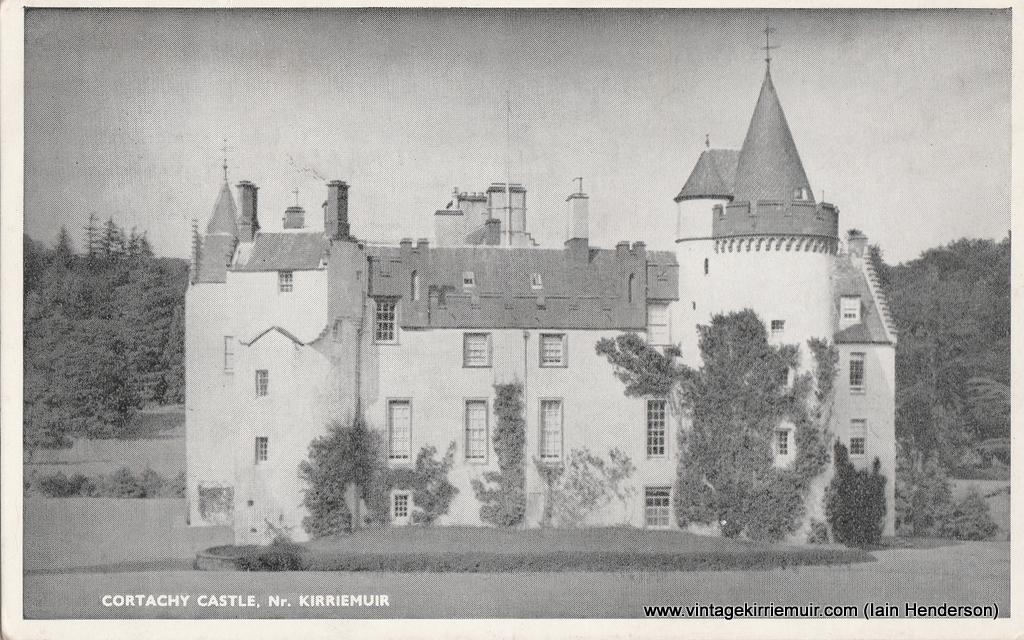 Cortachy Castle, near Kirriemuir (1956)