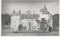 Cortachy Castle, near Kirriemuir (1956)