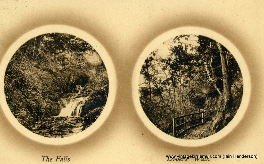 The Falls and Lovers' Walk, 1910
