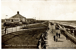 Dance Hall (Beach Ballroom) and Beach, Aberdeen