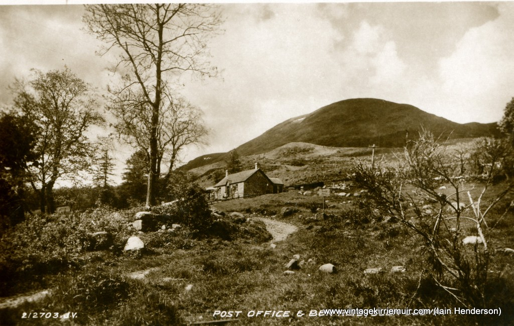 Post Office & Ben Reid, Glen Clova