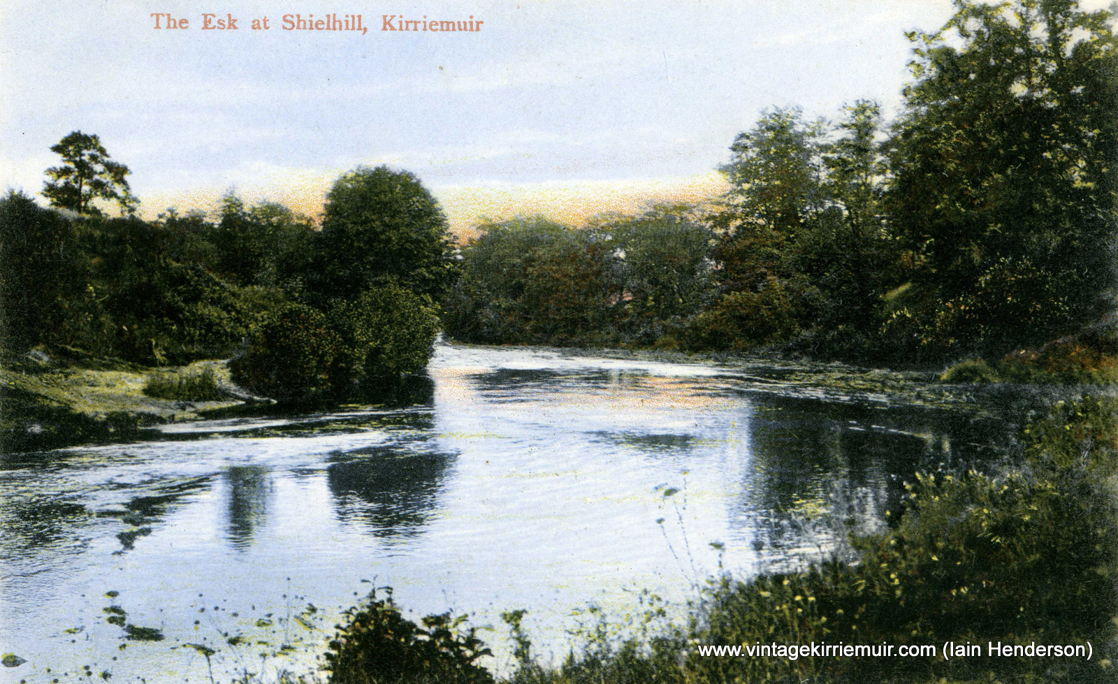 The Esk at Shielhill