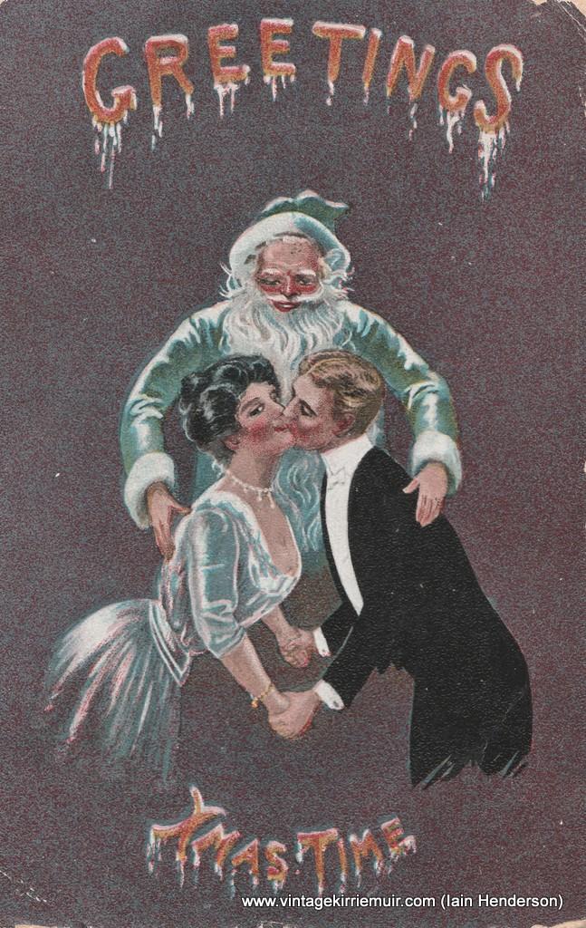 Greetings Xmas Time (1908)