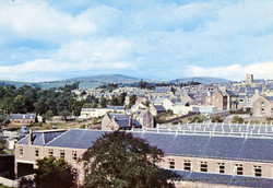 View from Commonty, 1970s?