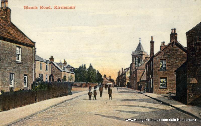 Glamis Road, 1911