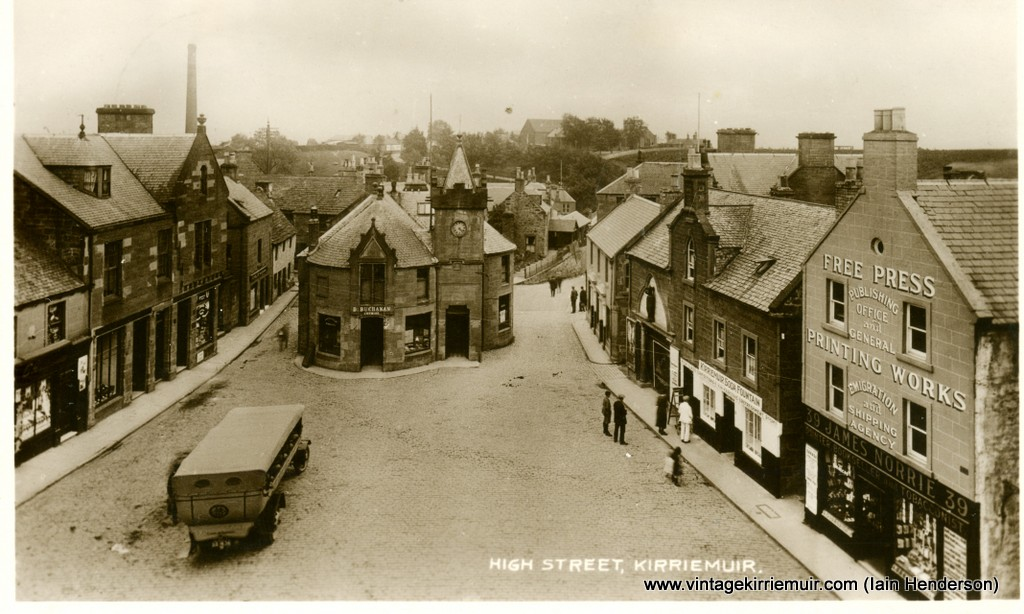 High Street, Kirriemuir (1931)