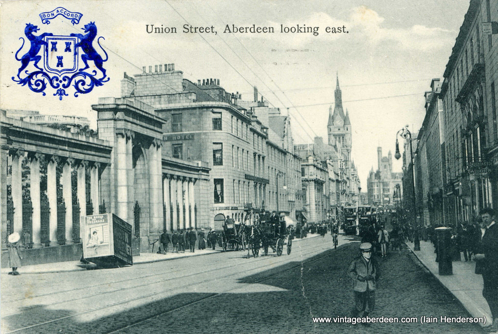 Union Street looking east (1906)
