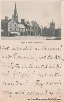 High Street, Kirriemuir (1901)