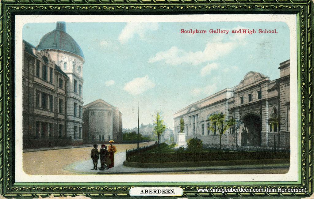 Sculpture Gallery & High School 1912
