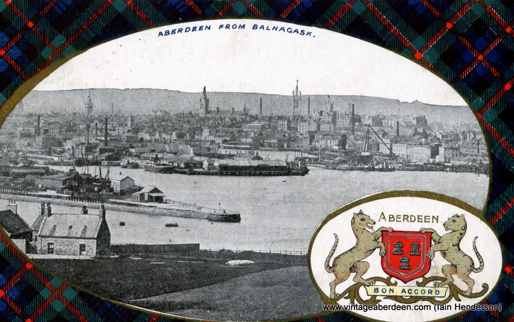 Aberdeen from Balnagask (1910)