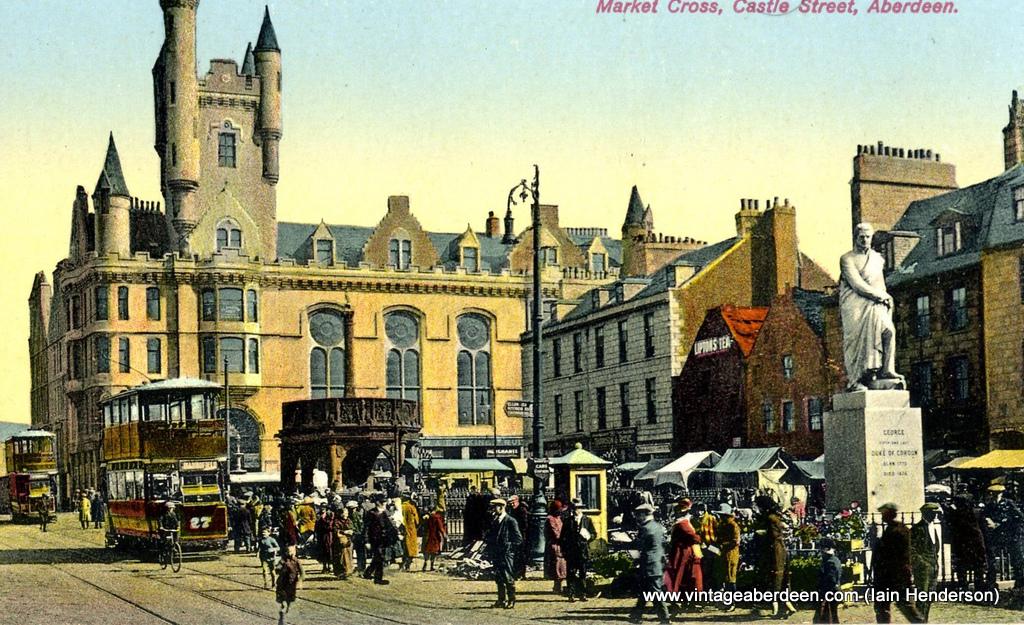 Market Cross, Castle Street, Aberdeen