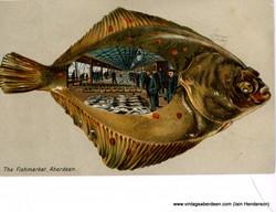The Fish Market, Aberdeen (1905)