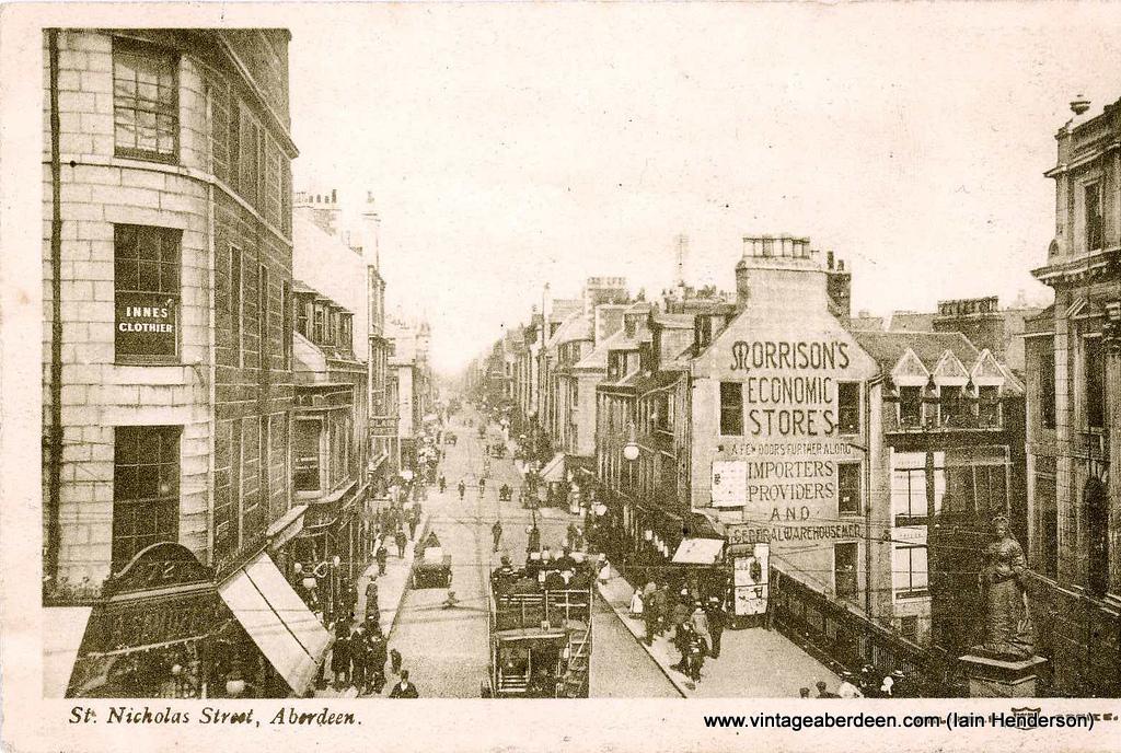 St Nicholas Street, Aberdeen (1905)