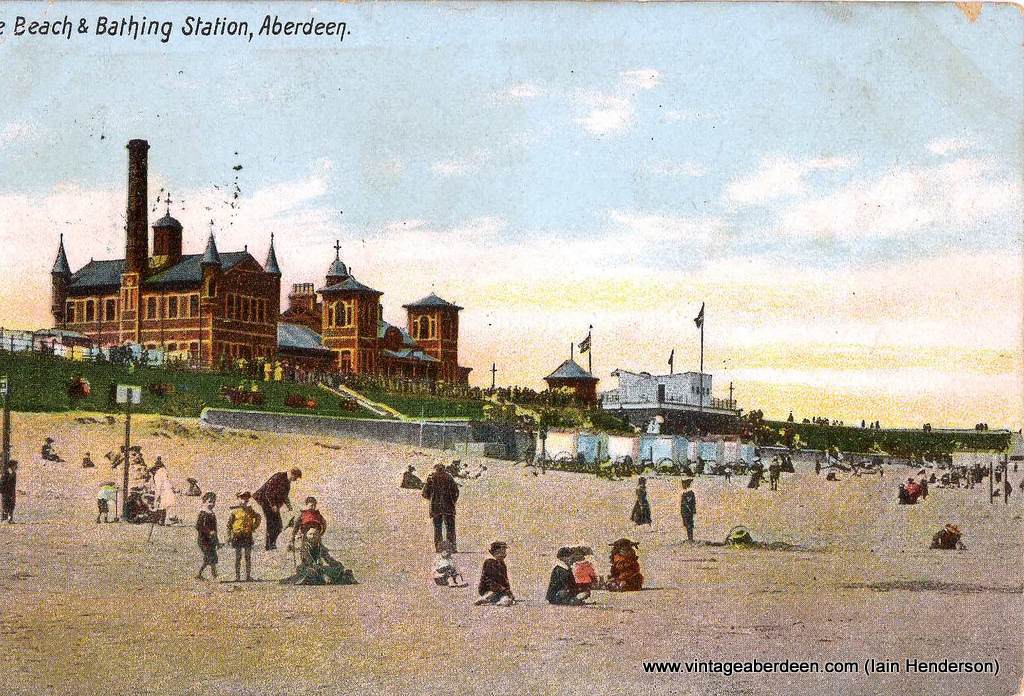 Beach and Bathing Station (1906)