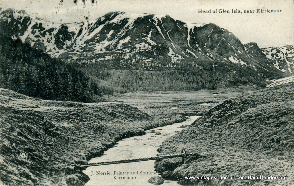 Head of Glen Isla, near Kirriemuir (1907)