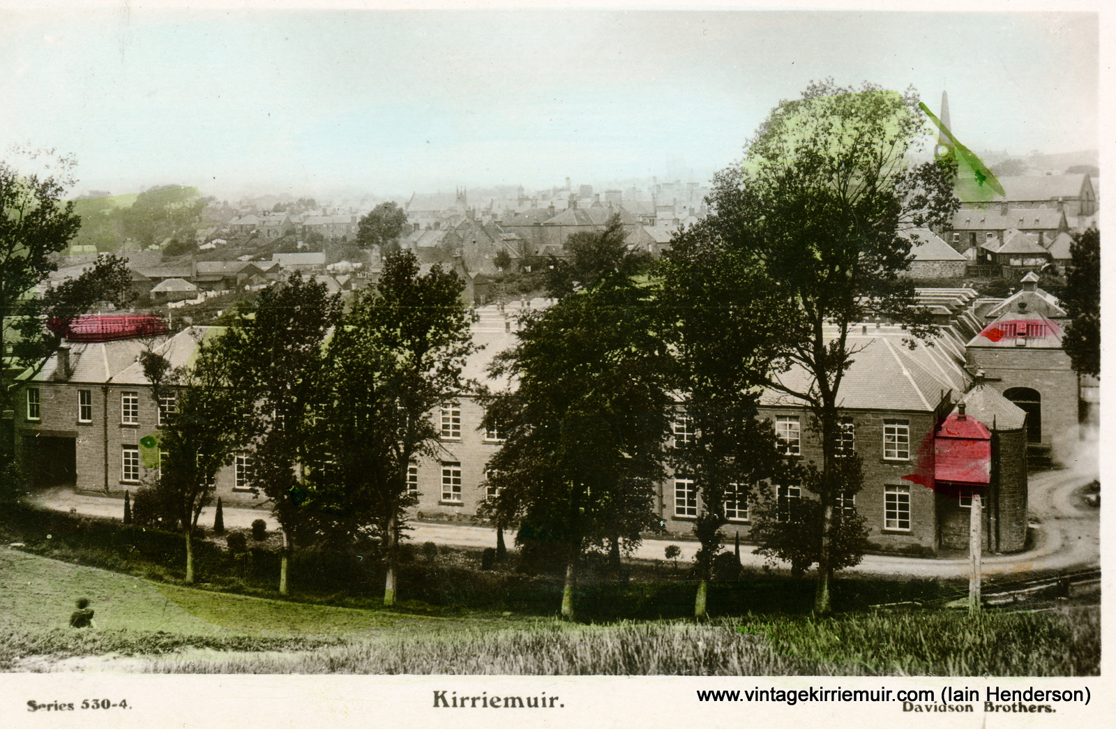 Kirriemuir from the Commonty, 1911