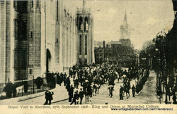 Royal Visit to Aberdeen, 27th September 1906