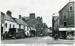 High Street and Bank Street, 1967
