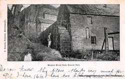 Meikle Mill from Kirrie Den, 1903
