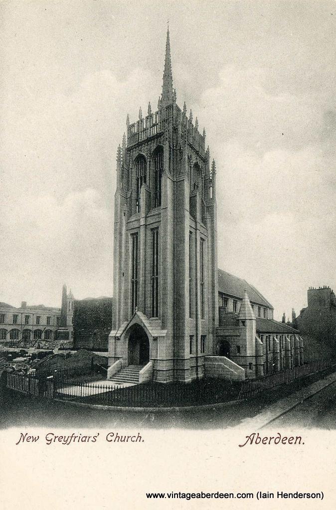 Greyfriar's Church, Marischal College, Aberdeen