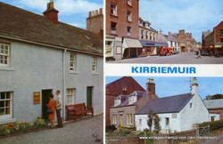 Multi-view postcard with Bank Street