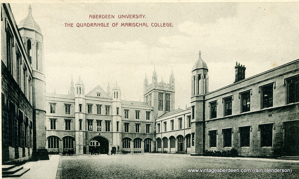 Aberdeen University, The Quadrangle of Marischal College