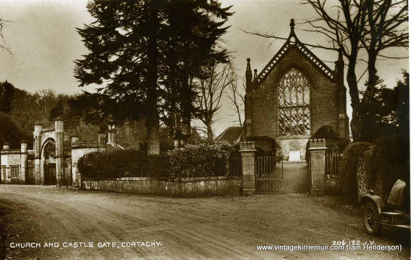 Church and Castle Gate, Cortachy