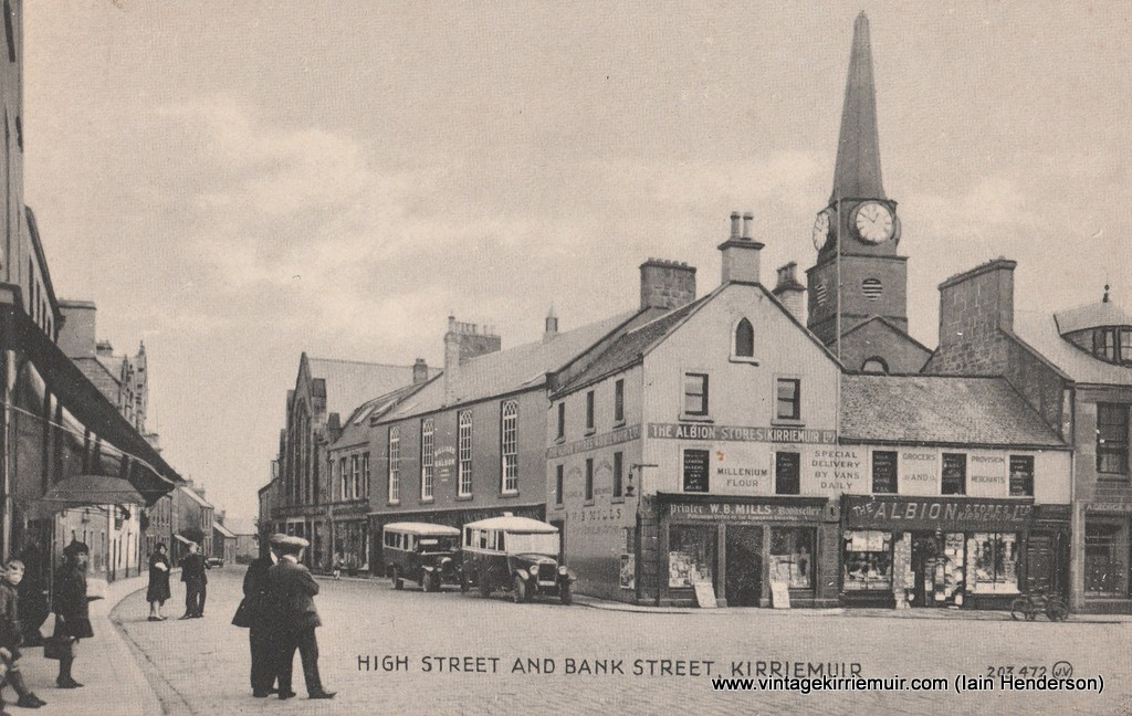 High Street and Bank Street, Kirriemuir