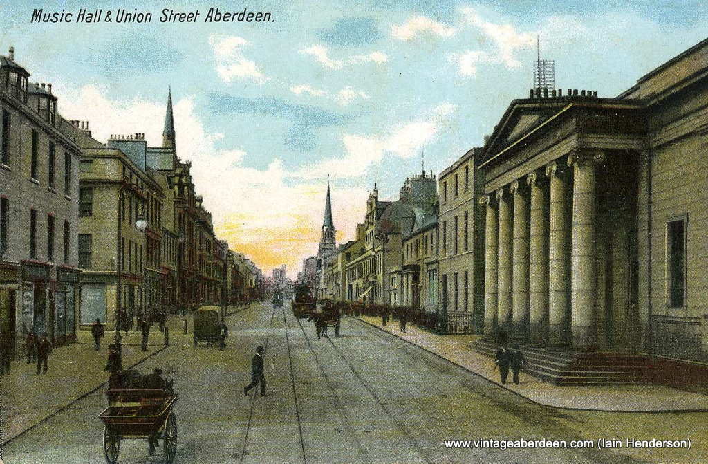 Music Hall and Union Street, Aberdeen