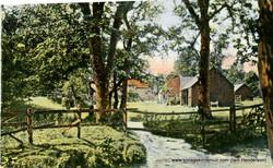 Farm on the Quharity near Kirriemuir (1915)